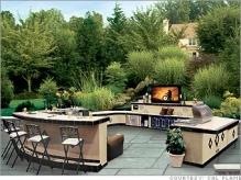 Luxury Outdoor Kitcen